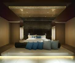 nice modern master bedrooms. Finish Solid Wood Coffee Table Modern Master Bedroom Decorating Ideas Beige Accent Wall Colors Schemes Black Leather Bed Jacobean Legs Style (625 X 529) Nice Bedrooms