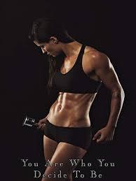 fitness model poster female bodybuilder workout motivation gym poster 18x24 sgv27