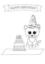 Small Picture Beanie Boo Coloring Pages New Puppy Free Downloadable Sheets