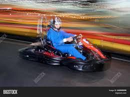 Go Kart Lights Brovary Ukraine 26 Image Photo Free Trial Bigstock