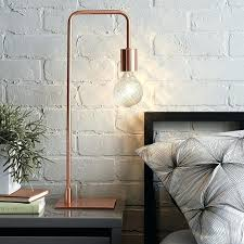 bedside reading lamp bedside table lamps to dress up your bedroom arc copper table lamp from bedside reading lamps led