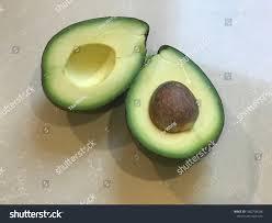 Avocado Light Closeup Avocado Over Light Background Stock Photo Edit Now