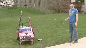 A Fort Wayne dad made a candy launcher, and it's awesome | WANE 15