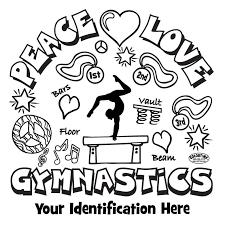 if you like challenging coloring pages try this balance beam artistic gymnastics coloring page