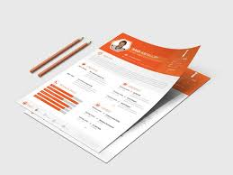 Modern Formatted Resume Templates Modern Minimal Resume Template Free Download Psd Doc