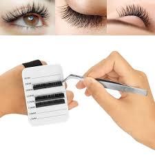 8 15mm eyelash extension palette hand strap plate false lashes lash strip holder set brush sets makeup from blueberry14 34 72 dhgate