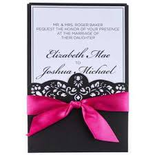 invitations & thank you cards wedding floral & wedding hobby Hobby Lobby Coral Wedding Invitations hot pink & black laser cut wedding invitations Hobby Lobby Printable Invitations