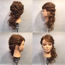 どんなドレスでも似合う結婚式お呼ばれの髪型カタログhair