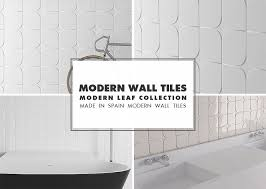 modern tile backsplash. Beautiful Modern Modern Wall Tile Ideas Leaf Collection In Backsplash P