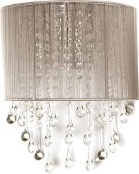 avenue lighting hf1511 tp beverly dr taupe silk string finish 8 nbsp wide wall loading zoom