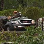 Girl in SUV crushed to death as storms pound Northeast