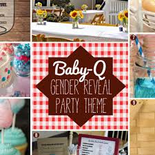 How to Plan a Gender Reveal Baby-Q BBQ Baby Shower! 10 Outdoor Birthday  Themes for Summer Parties