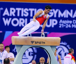 setback for uchimura as fig world cup kicks off in doha
