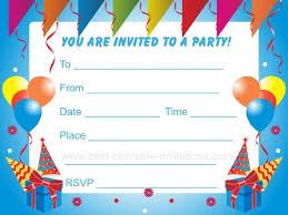 child birthday party invitation template com kids birthday party invitation templates cloudinvitation