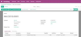 from invoice to payment collection odoo business 0 1 documentation accounting entries corresponding to this invoice are automatically generated when you validate the invoice you can see the details by clicking on the entry