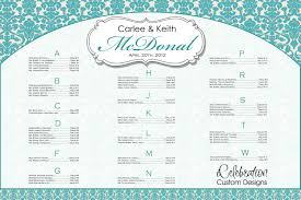 seating chart for wedding reception wedding seating chart printable sample employee termination letter