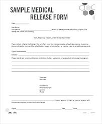 Free Medical Release Form Sample Template Printable Consent ...