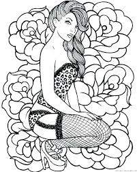 Female Coloring Pages Framesforeverinfo