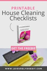 House Cleaning Chart How To Create The Best Home Cleaning Schedule For You