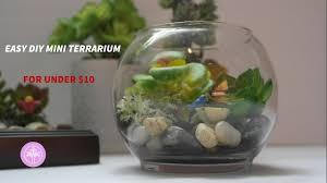 DIY Mini Faux Terrarium for Under $10!