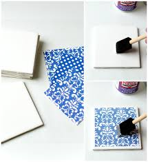 how to make diy coasters from tiles