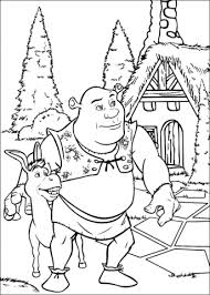 Small Picture Shrek coloring pages Free Coloring Pages