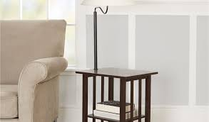 Elegant Magazine Holder Mesmerizing End Table With Attached Lamp And Magazine Rack 32 Elegant End Table