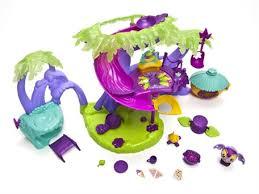 Amazoncom Zoobles  Family Jump Rope Mini Playset Toys U0026 GamesZoobles Treehouse Playset