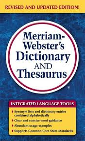 merriam webster dictionary and thesaurus mm 9780877798637