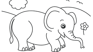 Elephants Coloring Pages Elephant Coloring Page En This Is A Big