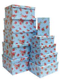 <b>Набор подарочных коробок</b> А-102 (<b>Розы</b> на голубом) | <b>набор</b> ...