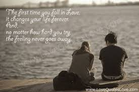 Quotes About Time And Love Impressive The First Time You Fall In Love Love Quotes Love