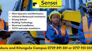 Specialist diploma in mechanical engineering. Sensei Institute Of Technology Sensei College For Practical Skills Training Like Driving Plant Operator Mechanics Building Technology Campuses In Nakuru Nairobi