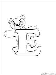 Letter E Kleurplaat Gratis Kleurplaten