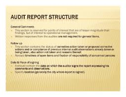 Fast Online Help   how to write audit report pdf SlidePlayer     writing effective audit reports