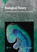 Biological Theory Biological Theory Journal Wikipedia