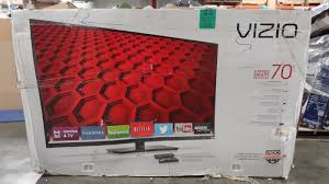 vizio tv 70 inch. vizio e-series 70 lcd 1080p smart tv e701i-a3 broken screen for parts inch