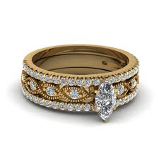 discount diamond wedding ring sets. marquise shaped diamond trio wedding ring set discount sets s
