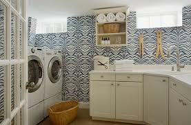 Wallpaper for Laundry Rooms