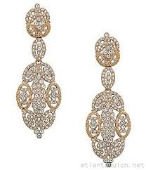 nina openwork statement chandelier earrings 20462730630 gold larger image