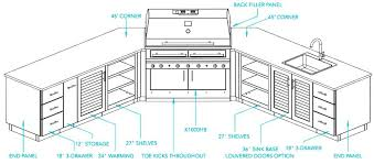 plans for outdoor kitchens featured in this outdoor kitchen design plans  for outdoor kitchen cabinets