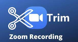 how to cut trim zoom video recording