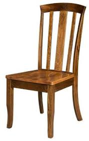 brady amish hardwood dining chair