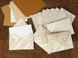 book envelopes