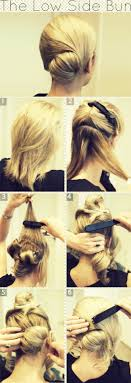Hair Style Low Bun graceful and beautiful low side bun hairstyle tutorials and hair 6997 by wearticles.com