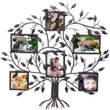 family tree photo collage frame red barrel studio 6 opening decorative family tree wall hanging ideas