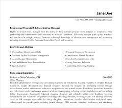 Admin Manager Cv Sample 8 Office Manager Resume Templates Pdf Doc Free
