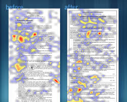 Using eye tracking gear, Evans' team measured what recruiters really see.