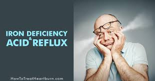 iron deficiency and acid reflux how