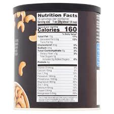 2 pack great value deluxe unsalted whole cashews 16 oz walmart